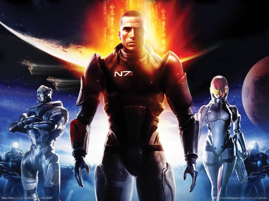 mass effect cover photo