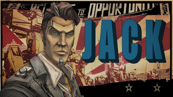 handsome jack title splash screen